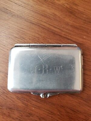 Tiffany & Co. Sterling Silver Stamp Case Great Christmas Gift