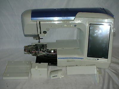 BROTHER PACESETTER XL 40 Embroidery Sewing Quilting Machine Free Impressive Brother Quattro 6000d Sewing Embroidery And Quilting Machine