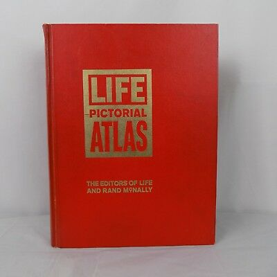 VINTAGE Life Pictorial Atlas of the World Time Life Published 1961 Maps History