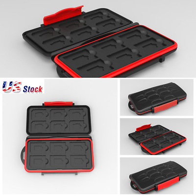 Pouch Wallet Carrying Case Memory Card Storage Holder CF/SD/SDHC/MS/DS Bag