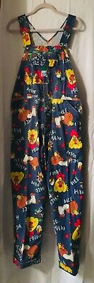 """Hee Haw Liberty Overalls 38 X 36 (Hemmed with Cuff To 29 1/2"""") 1970's Vintage"""