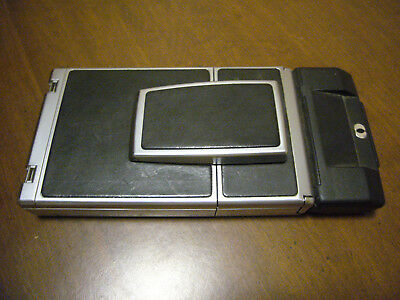 Vintage Polaroid SX-70 Land Camera Sonar One Step with flash bars and case!