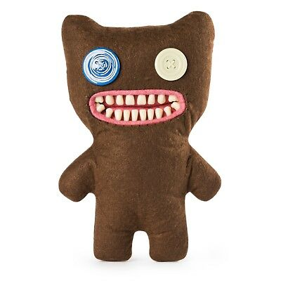 d91c4d1274f256 Spin Master FUGGLER Funny Ugly Monster RARE Mr Buttons Brown Bear NEW 9 inch
