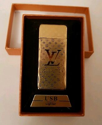 Limited Edtion USB electronic lighter Brand New In Box rechargeable flameless