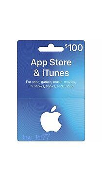 App Store iTunes Gift Cards $100
