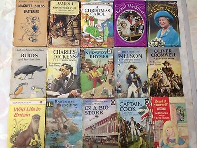 Collection of 15 Ladybird Books. History, Science, Nature, Royalty Etc.