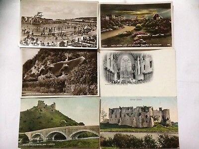 10 Old UK Postcards. Southsea, Ilfracombe, Weston Super Mare etc (22)