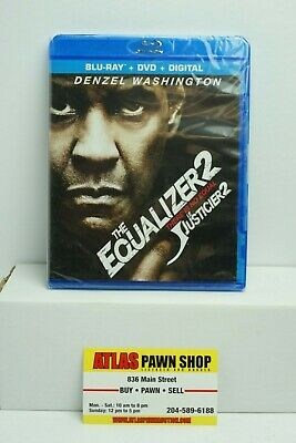 BRAND NEW CHEAP The Equalzer 2 (Blu Ray + DVD + Digital)
