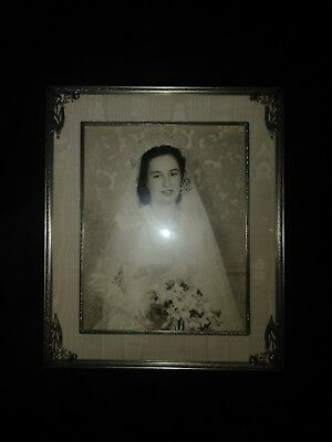 Vintage Antique Photo with frame
