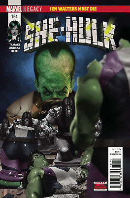 She-Hulk #161 - Marvel Legacy - 1St Print - Bagged And Boarded -  Free Uk P+P