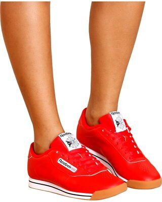 Women s Reebok Princess Classic Dv5097 Techy Red white gum Deadstock Brand  New 575278dcb