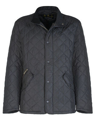 Barbour Men's Chelsea Sportsquilt Jacket - Black MQU0006BK11 BNWT RRP £125