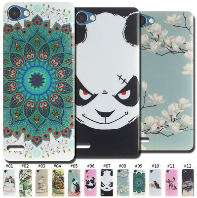 For LG Gel Cover Silicone Various TPU Painted Soft Case Back Shell Fashion Skin