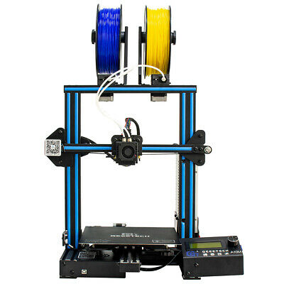 Geeetech 3D PrInter A10M 2 in 1 out Dual Extruder Mixing Color I3 Prusa Filament