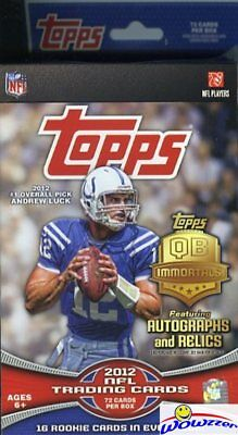 2012 Topps Football HUGE Factory Sealed 72 Card Hanger Box+16 ROOKIE CARDS! HOT