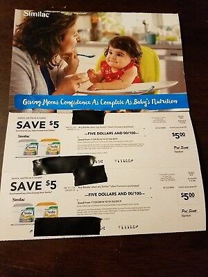 Similac Infant Formula $30 Total In Coupons