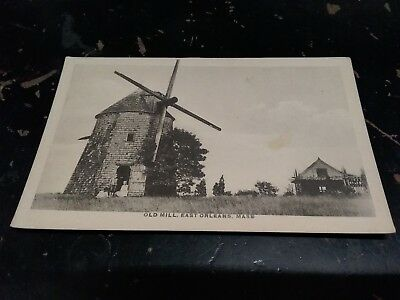 Vintage Postcard Old Mill East Orleans Mass