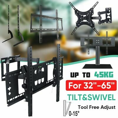 TV Wall Mount Bracket Stand Bracket /Fixed /Tilt /Tilt & Swivel VESA LCD LED AU