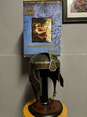 Helm Of Gimli The Lord Of The Rings New Line Cinema Licensed Reproduction Helm