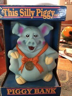 1992 Happiness Express Piggy Bank