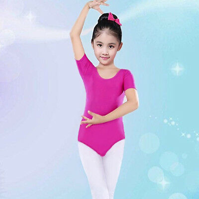 Toddler Girl Baby Leotards Ballet Playsuit Dancewear Gymnastics Classic Outfits