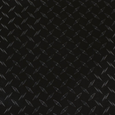 "24"" X 4ft - Black Diamond Plate -*LVG InterCal*- Sign & Graphic Vinyl Film"