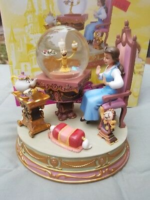 Disney Beauty and the Beast Be Our Guest Belle Snowglobe Snow globe