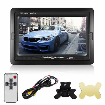 "7"" TFT LCD HD Screen Monitor for Car Truck Reverse Rear View Backup Camera Kit"