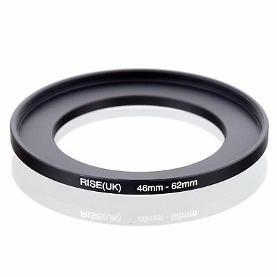 46mm-62mm 46-62 46MM TO 62MM Matel Step-up Filter Ring Camera Lens Adapter