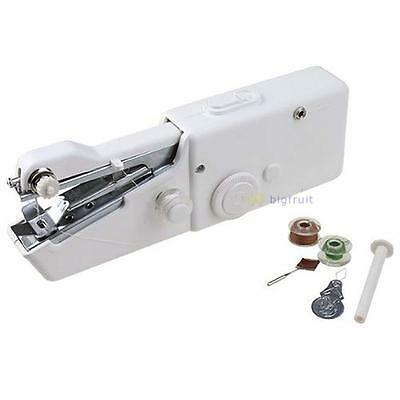 Portable Electric Home Travel Sewing Machine Handheld Desktop Stitch Tool BE