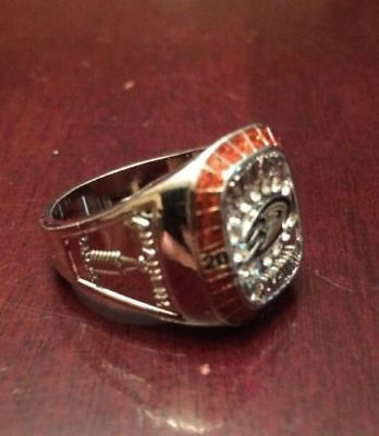 Molson Canadian 2007 Anaheim Ducks Stanley Cup Ring NHL Hockey (NEW) USA SELLER!
