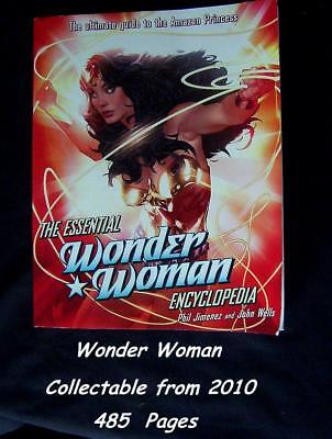 The Essential Wonder Woman Encyclopedia  485 Pages