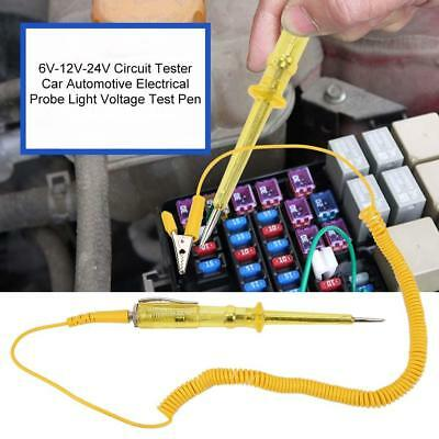 6V-12V-24V Circuit Tester Car Automotive Electrical Probe Light Voltage Test Pen