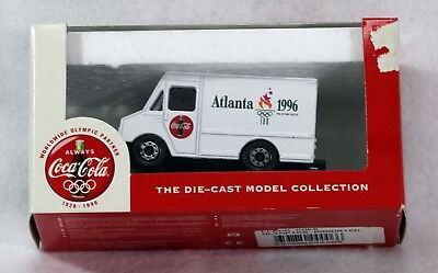 Collectible Vintage 1996 Atlanta Olympic Game Coca-Cola Coke Die Cast Truck New