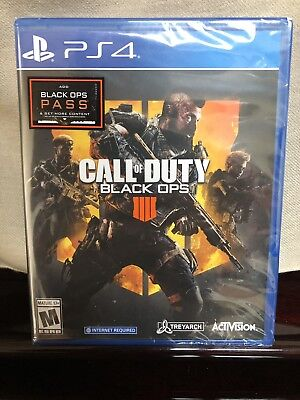 *NEW SEALED* Call of Duty: Black Ops 4 Sony PlayStation 4, 2018 FAST SHIPPING