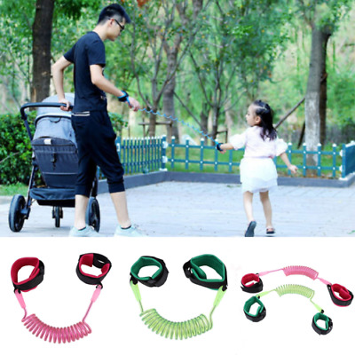 Toddler Baby Kid Safety Walking Anti-lost Harness Strap Wrist Leash Belt Hand AU