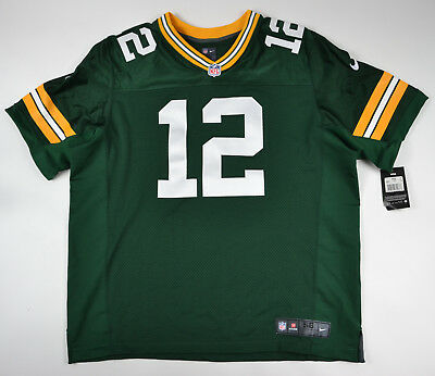 Aaron Rodgers NFL Green Bay Packers Nike Elite jersey 3XL (56)