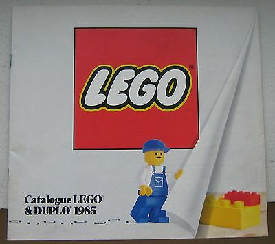 LEGO 1985 Catalogue in FRENCH or GERMAN near Mint RARE Collector CHOICE of ONE