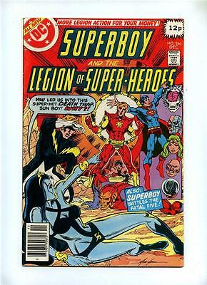 Superboy and the Legion of Super-Heroes #246 - DC 1978 - FN-