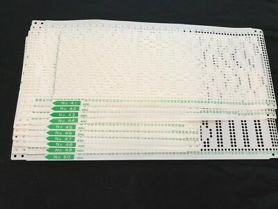 Brother Knitting Machine 24 Stitch Set Punch Cards Krc 900 Color Changer
