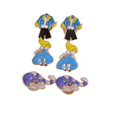 6x Colorful Cartoon Animals Brooch Button Pins Badge Lapel Jacket Bag Gift