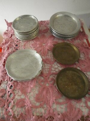 Instant Collection - Vintage Everlast Hand Forged Aluminum Coaster Sets + others