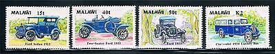 Malawi 1990 Vintage Vehicles SG 833/6 MNH