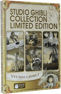 STUDIO GHIBLI  Collection Limited Edition DVD Brand New Sealed