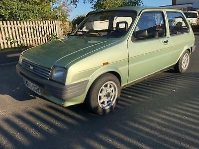 Classic Car1986 Austin Metro L 1.0 Very Low Mileage 25,900 Retro Old School Car