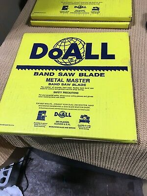 "DoALL 1/4"" Band Saw Blade 100FT Type 334-243 **NEW**"