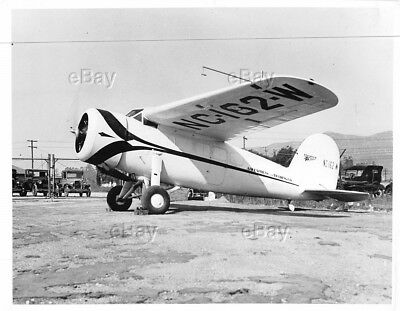Vintage Aircraft Photo Lockheed Vega Nc-162-W Air Express And Trading Co Nc162W
