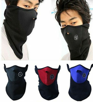 Unisex Motorcycle Winter Face Mask Wind Protect Ski Cover Neck Outdoor Warmer