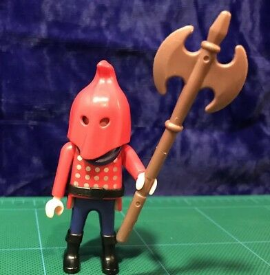 PLAYMOBIL /> EXECUTIONER AX MAN /< 4524 NIB castle knights medieval king dragon