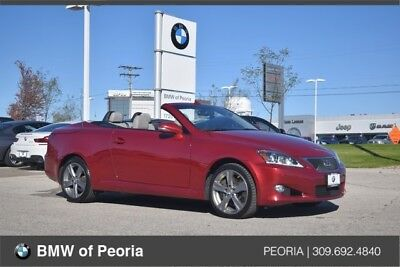 2012 IS 350 C 2012 Lexus IS250 CONVERTIBLE -AUTO TRANS - LEATHER - NAVIGATION - 72K MILES